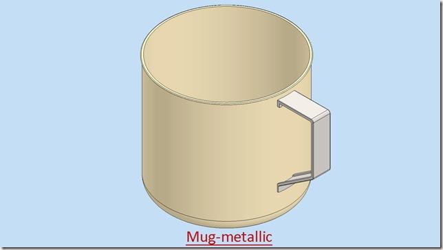 Mug-metallic