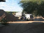 Block truck arrival 10/20