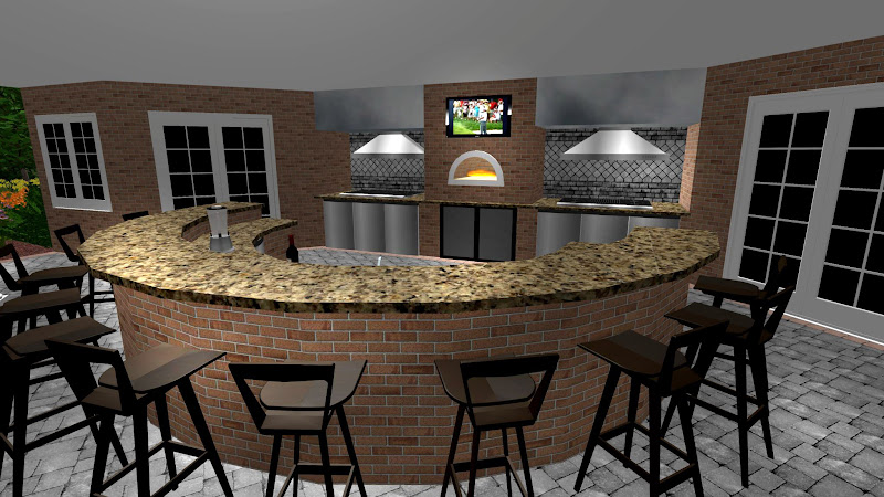Landscape Design Process Outdoor Kitchens Bars Long Island