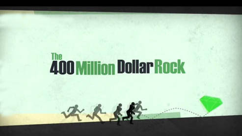 Szmaragd o warto�ci 400 milion�w dolar�w  / The 400 Million Dollar Rock (2011) PL.TVRip.XviD / Lektor PL