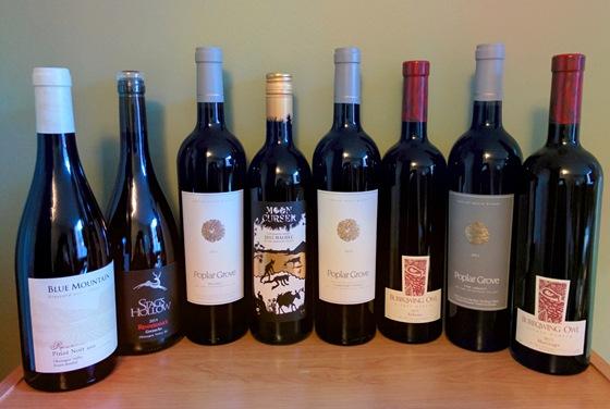 November 2015 BC wine collectibles
