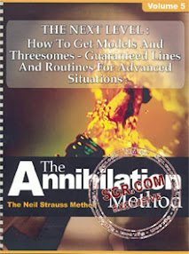 Cover of Neil Strauss's Book The Annihilation Method Next Level How To Get Models And Threesomes