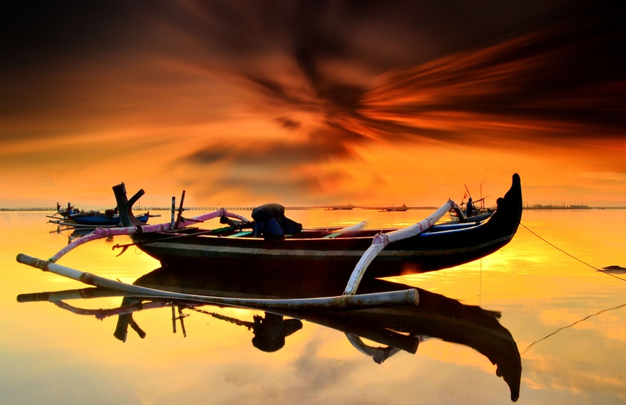 Boat by Agus Devayana - Transportation Boats