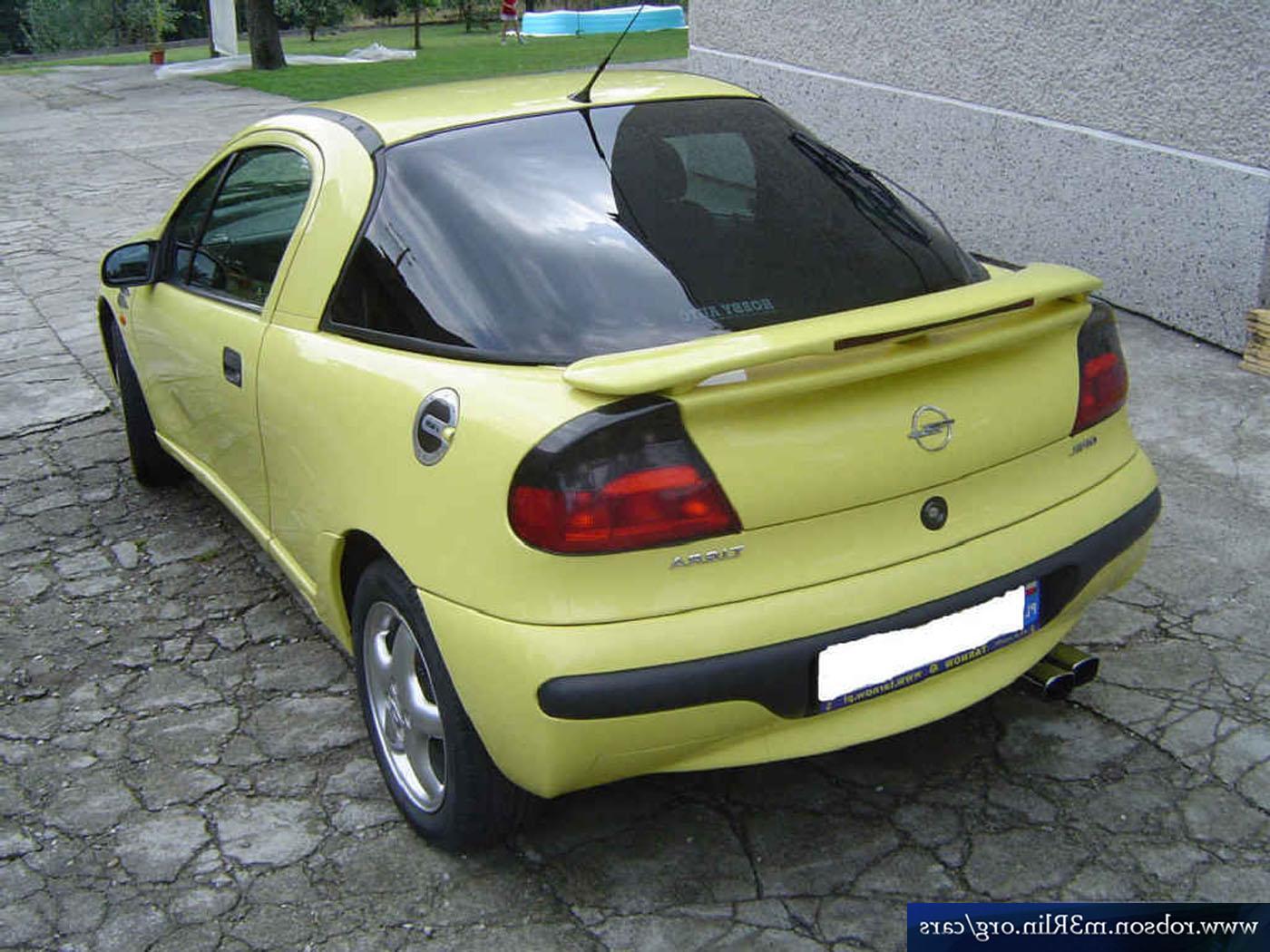 Brazilian Chevrolet Tigra