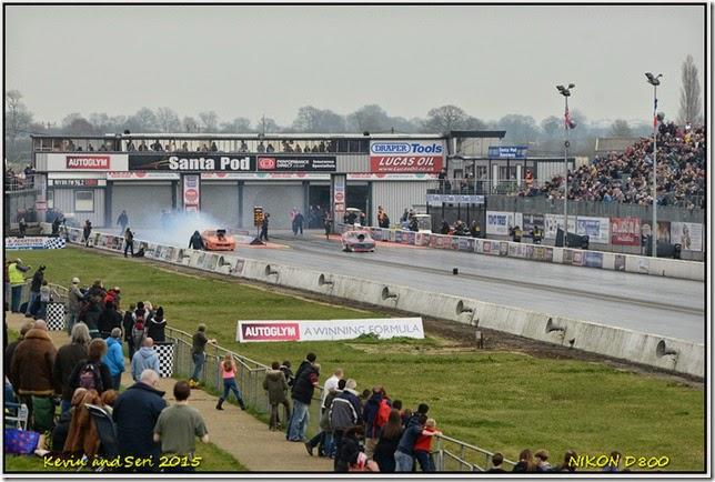 Santa Pod Raceway - April