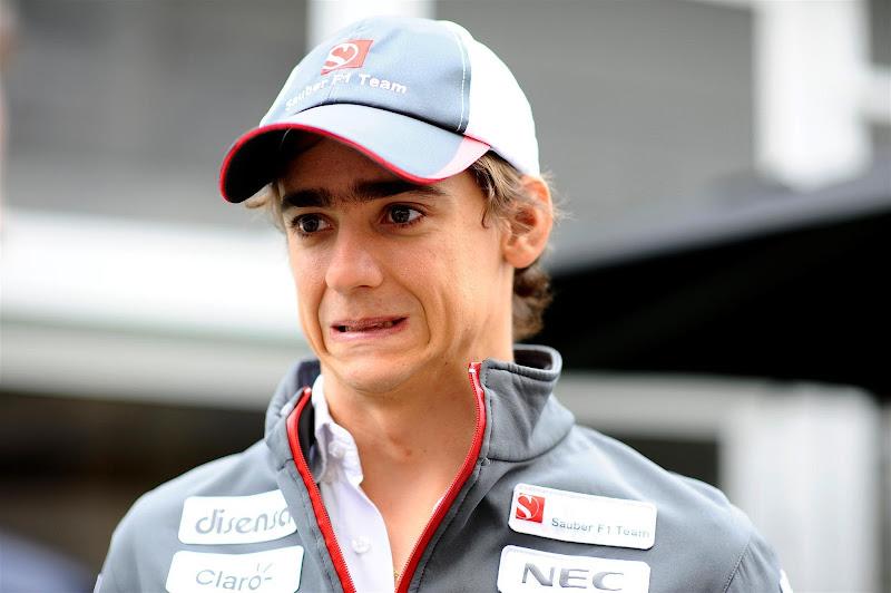 Эстебан Гутьеррес на Гран-при США 2012