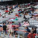 Rain Delay inside Uniprix Stadium