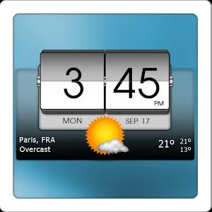 3D Flip Clock & World Weather apkmania