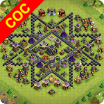 Maps of Clash Of Clans Apk