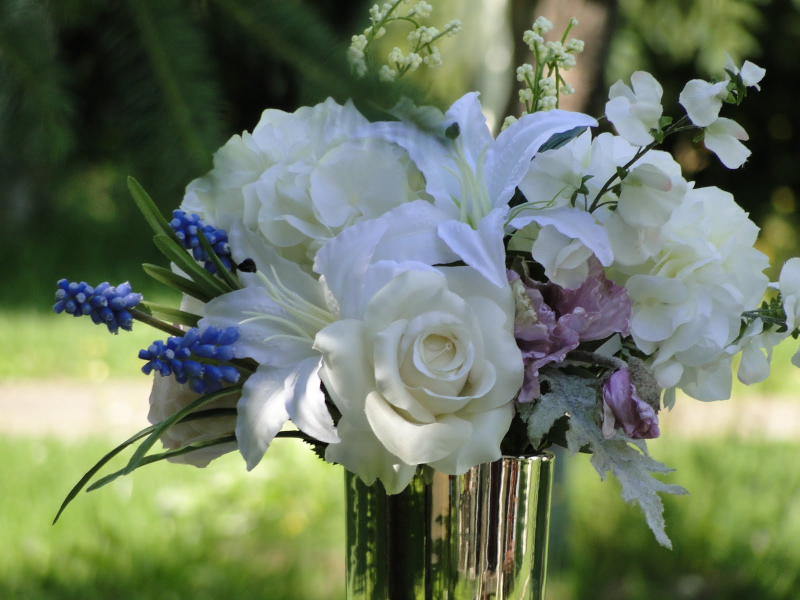 Faux Centerpieces for Weddings