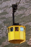 The Bright Yellow Octagon Aeri Pods - Montserrat, Spain