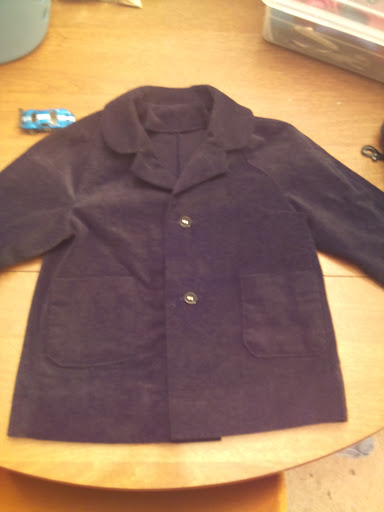 Henry's coat, from McCall's 6255 (1962)