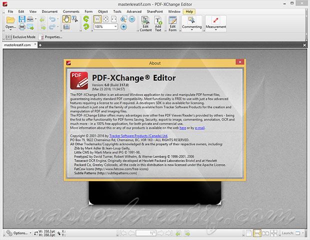 PDF-XChange Editor 6