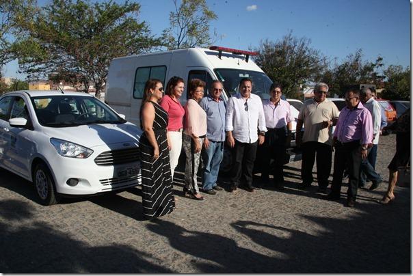 Ezequiel beneficia Saúde no Seridó