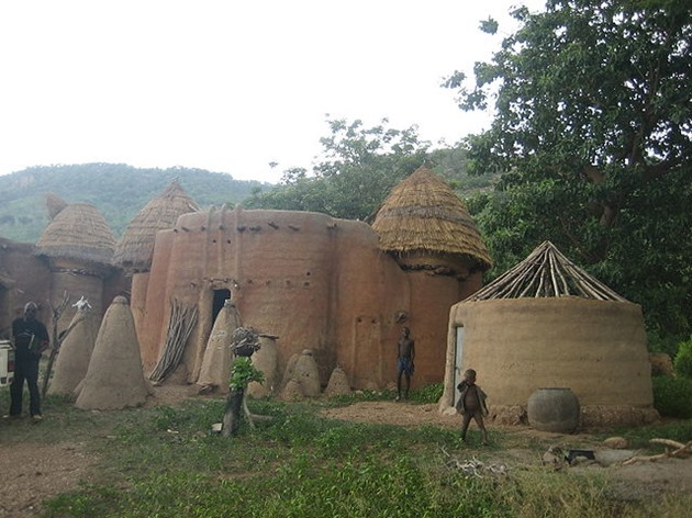 Traditional Taberma Houses, Togo