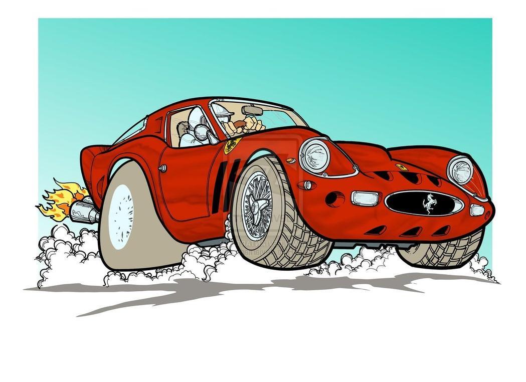 WIP 2 Ferrari 250 GTO by  R0tti on deviantART
