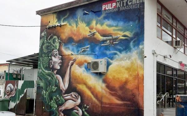 pulp mural