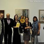 5: José Luis Ruiz del Puerto, Juan Grecos, Julia Grecos, Mª Luisa Romero, Esther Hinojosa y Esdras Serna