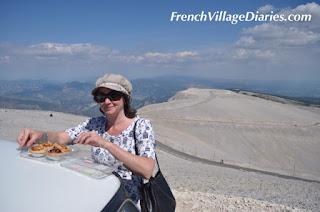 French village Diaries Mini Cooper road trip France Le Mont Ventoux Provence