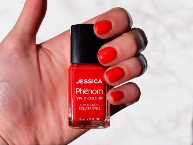 Jessica Phenom Vivid Colour Nail Polish Review
