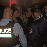 police at time supper club in montreal in Montreal, Quebec, Canada