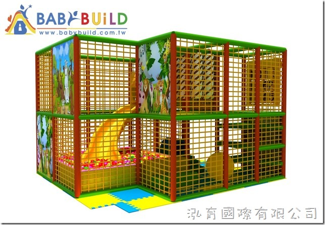 BabyBuild 室內3D泡管兒童遊具設計圖
