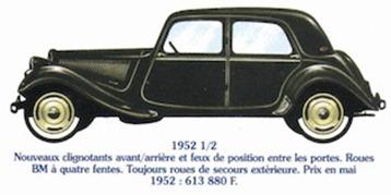 Citroen Traction 11 1952