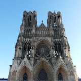 The cathedral in Reims