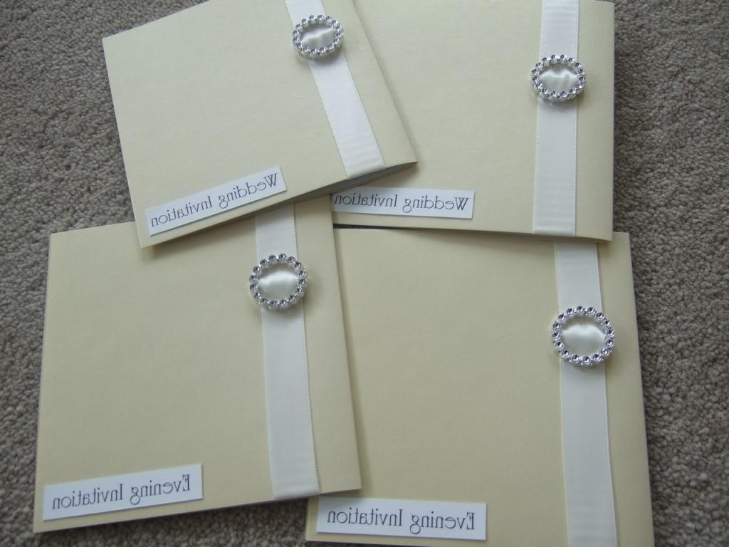 Subject: Homemade Invitations
