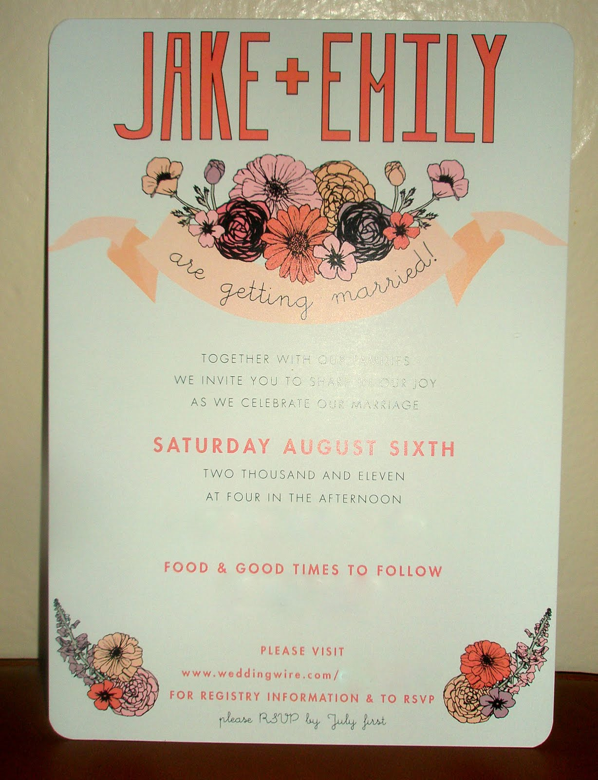 email wedding invitations