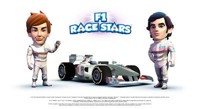 пилоты Sauber Камуи Кобаяши и Серхио Перес в F1 Race Stars