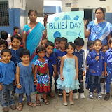 Blue Day Celebrations at Santosh Nagar Girls Branch
