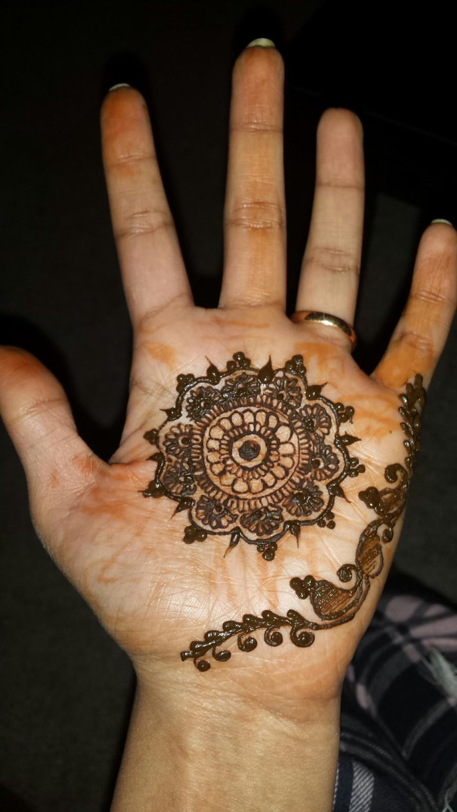 Theory Of Henna The Jodha Akbar Design