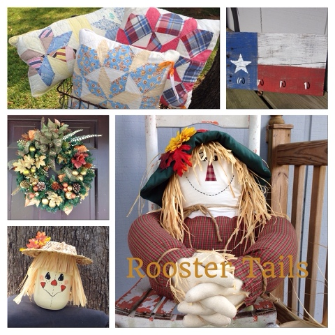 Rooster Tails Texas, Hand Made items