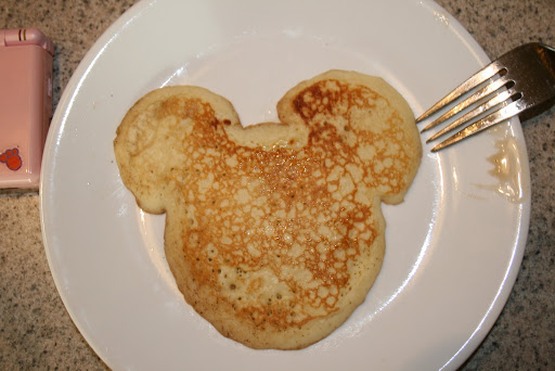 Mickey Mouse Pancake by Daddy