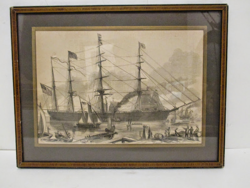 Nautical Engraving