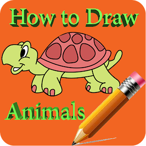 How to draw animals on phone