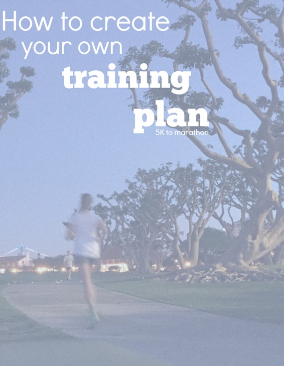 How To Build Your Own Training Plan 5k To Marathon Be Your Best Runner