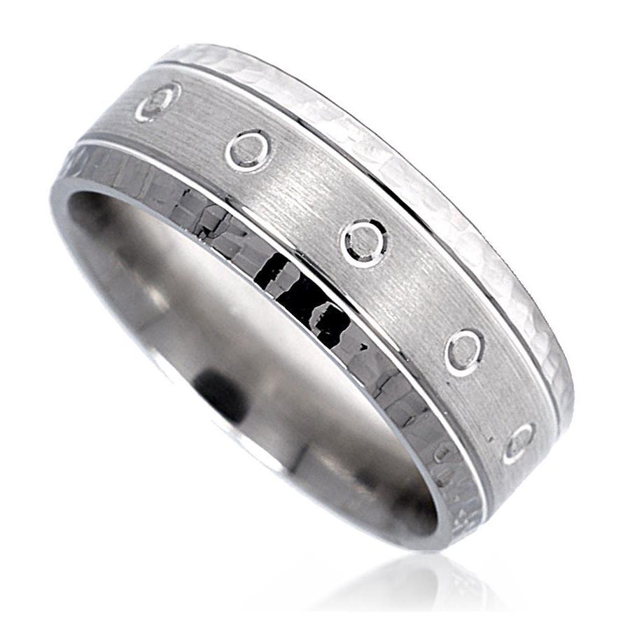 wide wedding bands for men