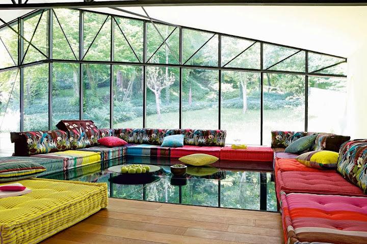 paletten bett sofa kissen auflagen