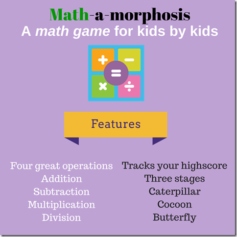 Math-a-Morphosis SM