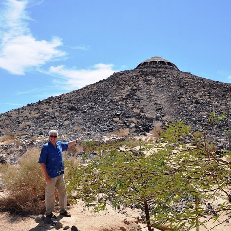 The Volcano House of Newberry Springs