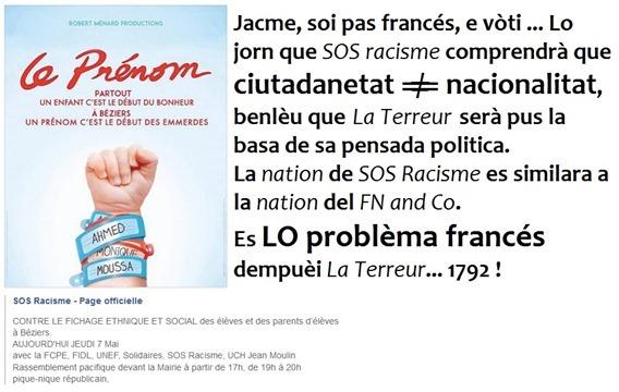 lo problèma francés de sempre