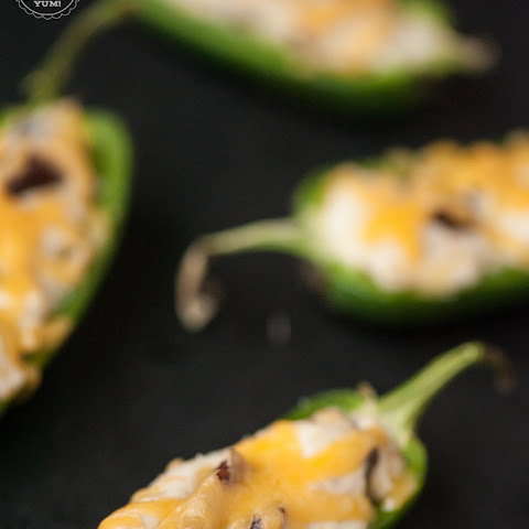 Cheesy Bacon Ranch Jalapeno Poppers