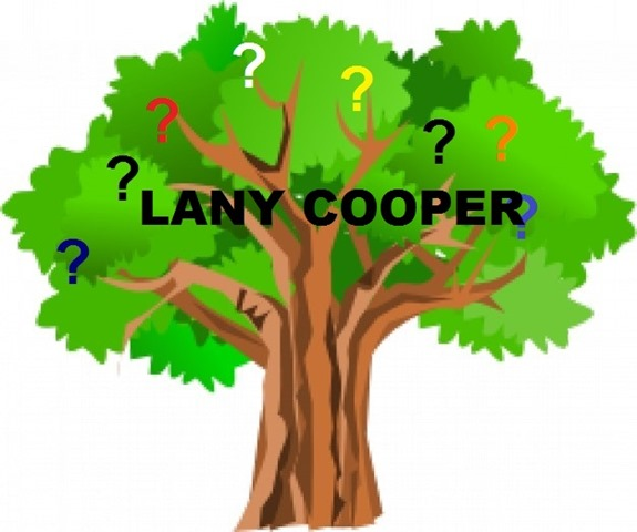 Green tree with question marks_Lany Cooper