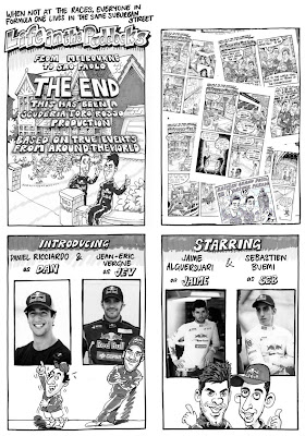 заключительный пресс-релиз комикс от Toro Rosso перед Гран-при Бразилии 2011