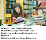 Thesis writing services in Jaipur