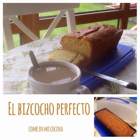 BIZCOCHO DE MAÍZ (apto para Celiacos) EL BIZCOCHO PERFECTO