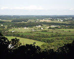 View from the parking lot, Sugarloaf Mountain, near Barnesville, Maryland.