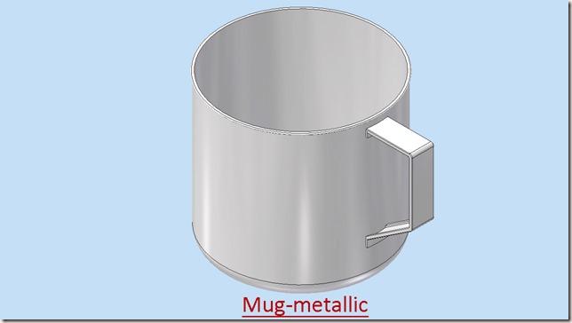 Mug metallic